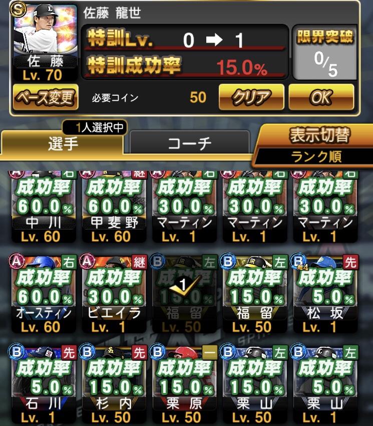 特訓 プロスピ 1 a 【プロスピ】過去イベント&特訓1.5倍・コイン1/2・スタミナ1/2の日程まとめ!!